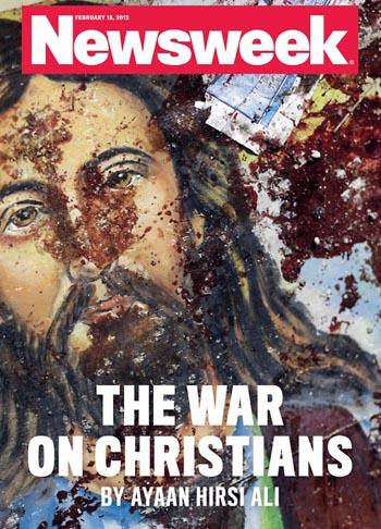 christian persecution, war on christians, newsweek