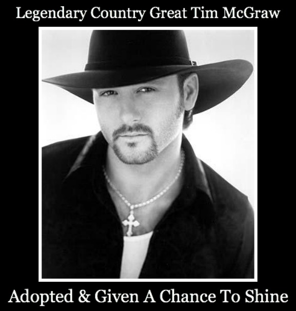 tim mcgraw, adopted