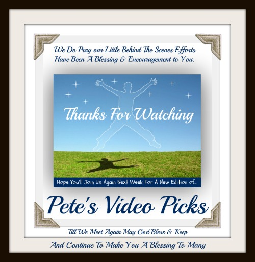 Pete's Video Picks,