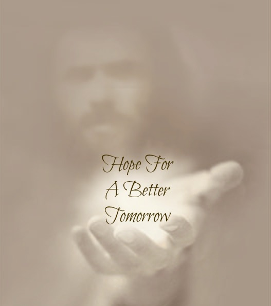 comfort & encouragement quote, Jesus, hope for tomorrow,