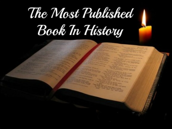 Most Published Book,The Bible, best seller