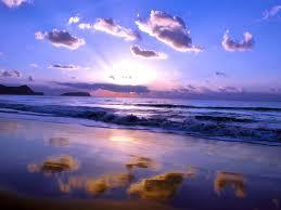 beach sunset, beautiful sea, ocean