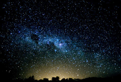 star gazing, milky way, night sky