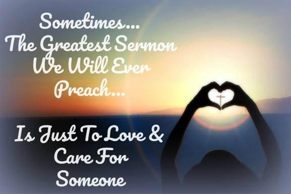 Let Your Life Be Your Sermon
