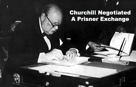 Winston Churchill, negotiate