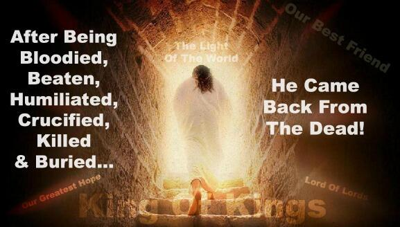 Easter Story, Resurrection, King Of Kings