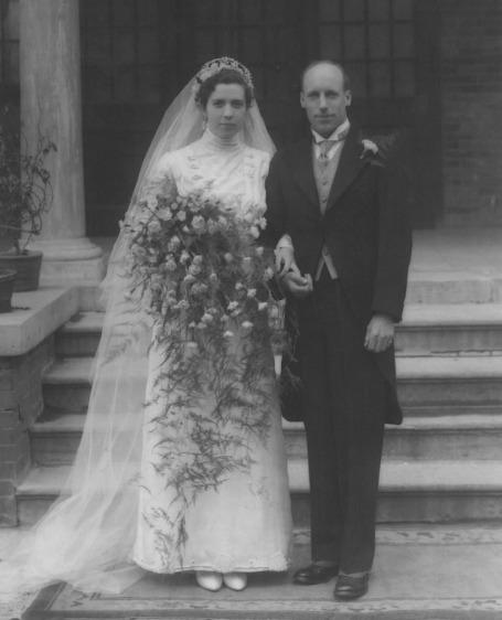 Eric Liddell, Florence Mackenzie, Wedding Picture