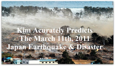 Japan Tsunami, Prediction, Kim clement, Kim Clement Quote