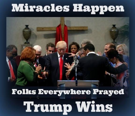Trump Wins, Miracle