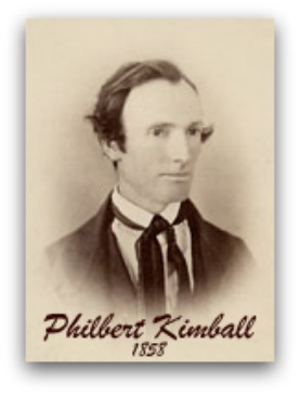 philbert Kimball, sunday school teacher