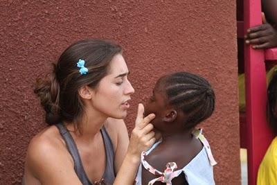 katie davis, caring for child