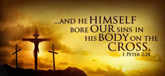 1 Peter 2:24
