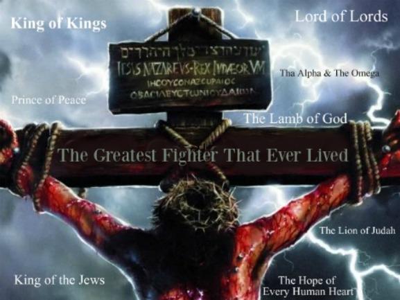 Jesus The Fighter