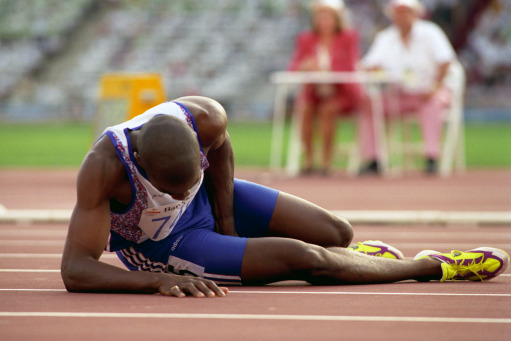 derek redmond,finishing, courage, hamstring