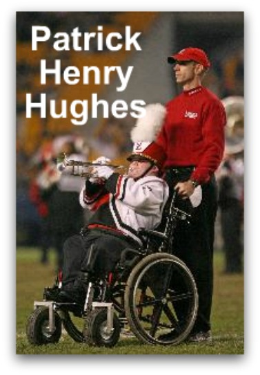 Patrick Hughes, Louisville marching band