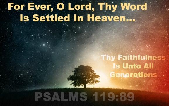 Psalms 119:89