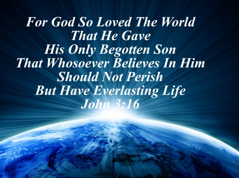 Secret Message, john 3:16, bible quote, rising sun, planet earth