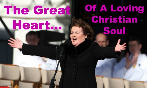 Susan Boyle, Singer, Great Heart