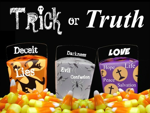 Jesus Ween, all saints day, trick or truth, christian Halloween, Witnessing
