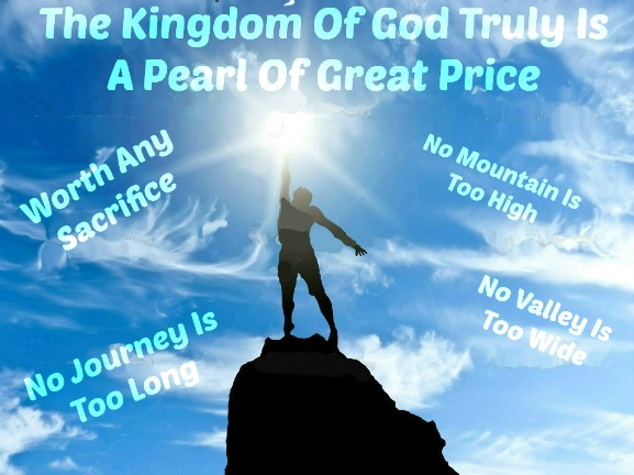 the love of god, a pearl of great price