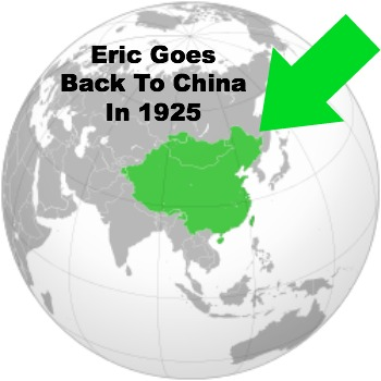 Eric Liddell in china, Missionary