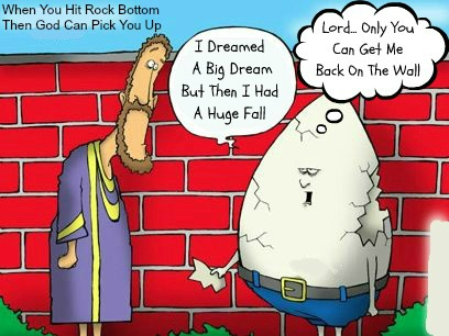 christian quotes, john olsteen, jesus cartoon, Humpty dumpty