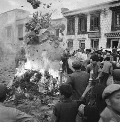 China Book Burning, cultural revolution, 1960's