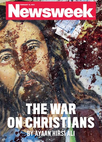 christian persecution, war on christians, newsweek