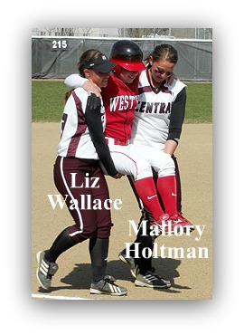 Mallory Holtman, Liz Wallace, good sport, baseball miracle
