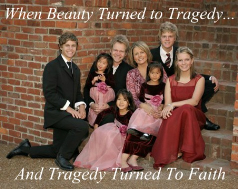 Steven curtis chapman, tragedy to victory, quote,  family photo, maria sue chapman
