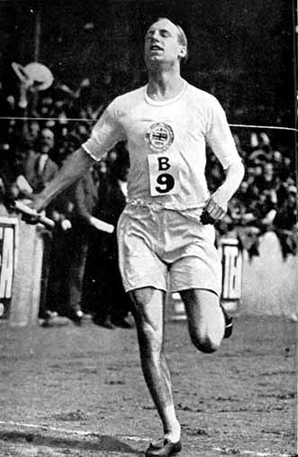 Eric Liddell, champion of faith, 1924 olympics, missionary