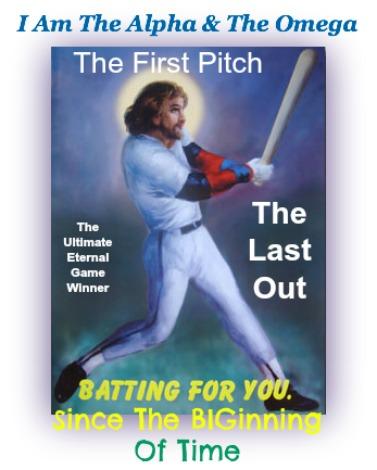 jesus, baseball, christian baseball quote, funny Christian Story