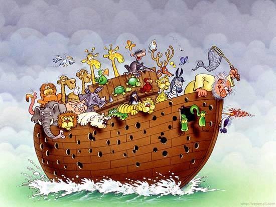 Funny Noah Ark