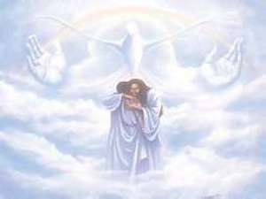 going home to Heaven, Meeting Jesus