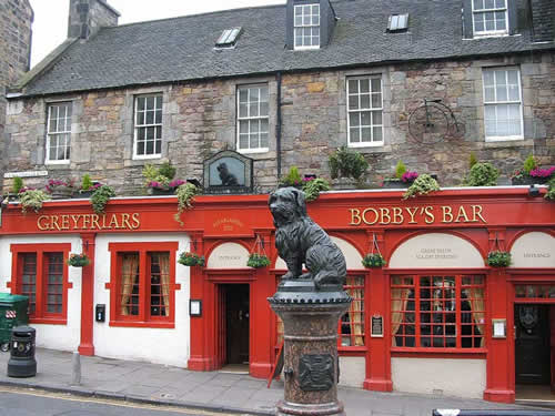 greyfriars bobby pub, bar, Edinburgh