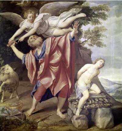 abraham sacrifice, giving to god