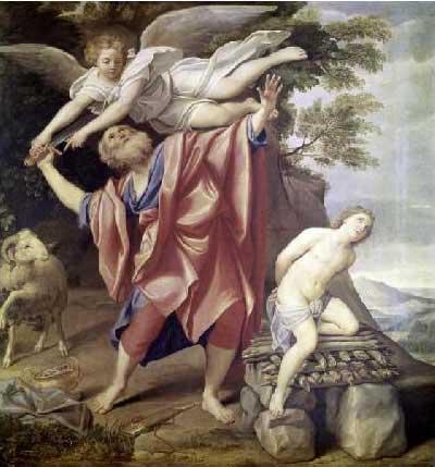 abraham sacrifice, giving to god