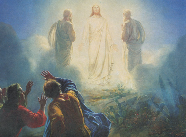 Matthew 17:1-3, transfiguration, jesus, moses, elijah, on mountain