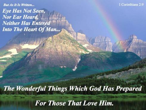 Cor 2, Isaiah 64, Quote