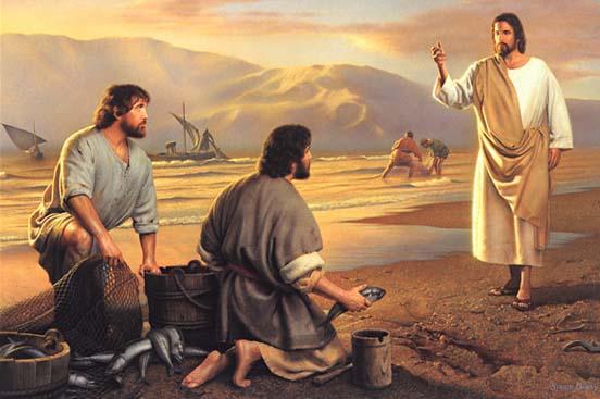 Jesus Disciples, Jesus fishermen, Jesus Peter
