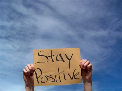 staying positive, quote,