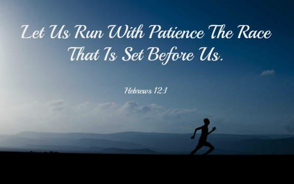 Hebrews 12:1, Run With Patience