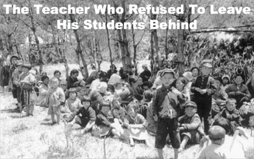 sacrificial teacher, not one left behind, korea