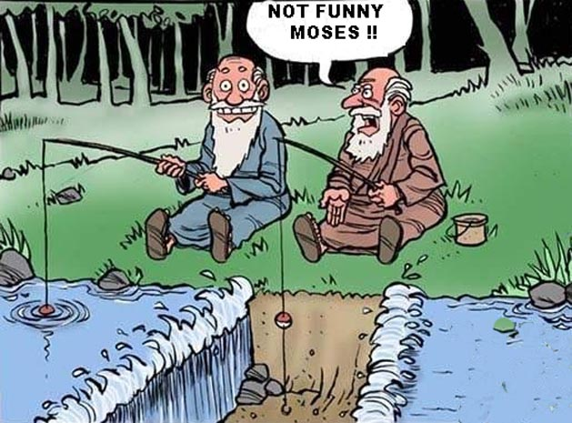 Funny moses funny christian cartoon picture e