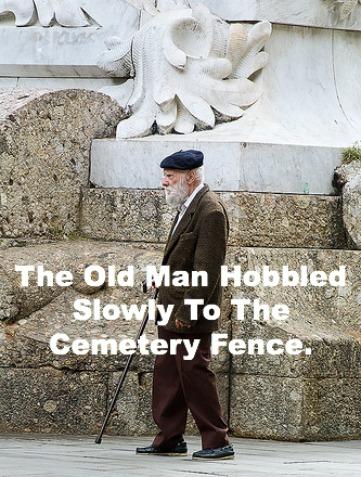 old man hobbled, funny christian story, christian humor
