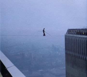 World Trade Center, 9/11, petit, tightrope,