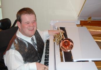 Patrick Henry Hughes, Blind Musician
