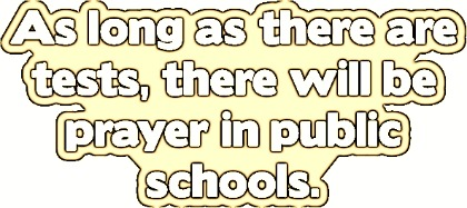 Prayer in School, funny christianquote