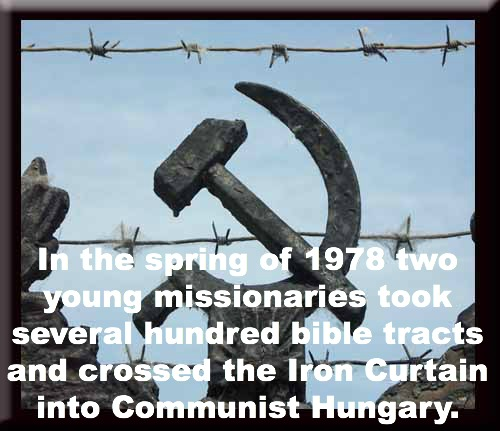 missionaries behind the iron curtain, up to faith
