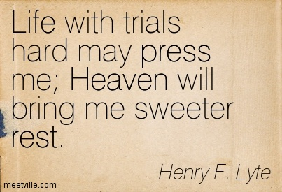 henry lyte quote, abide with me
